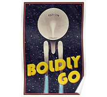 Star Trek: Boldly Go Poster
