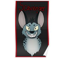 Scavenger Hyena Poster