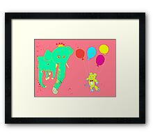 Life's a Party, Invite Yourself Framed Print