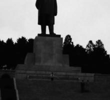 Statue of Kim Il-Sung in North Korea Sticker