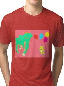 Life's a Party, Invite Yourself Tri-blend T-Shirt