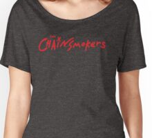 CHAINSMOKERS RED Women's Relaxed Fit T-Shirt