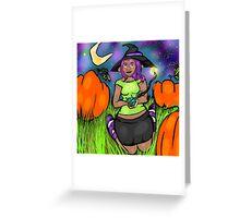 Pumpkin Patch Queen Greeting Card