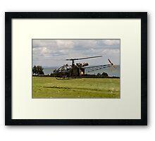Alouette V-54 Framed Print