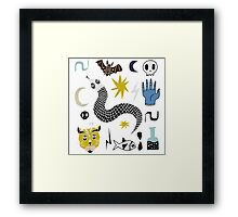 Magic Omen Framed Print