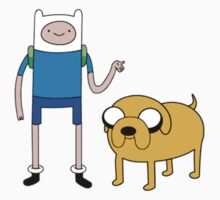 Jake and Finn by stopitrebecca