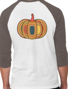 Autumn Pumpkin Men's Baseball ¾ T-Shirt