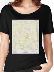 USGS TOPO Map Arkansas AR Smackover NE 259605 1962 24000 Women's Relaxed Fit T-Shirt