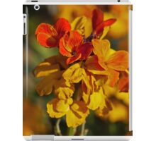 Whos'e a wallflower! iPad Case/Skin