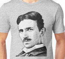 Tesla - Portrait Unisex T-Shirt