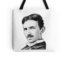 Tesla - Portrait Tote Bag