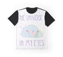 The Universe In My Eyes Graphic T-Shirt