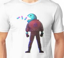 Pacman illustration Unisex T-Shirt