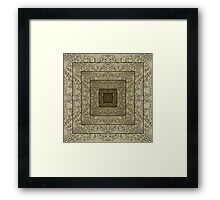 Lost in the Space/Time Continuum Framed Print