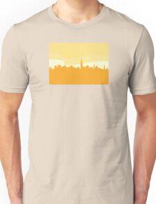 Vector city silhouette. New York city silhouette.Vector Illustration. Unisex T-Shirt
