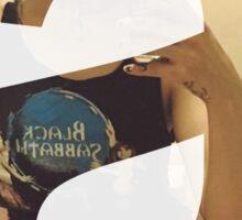 Adore Delano, Letter A Sticker