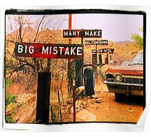 Big Mistake Poster