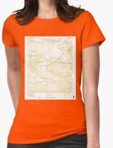 USGS TOPO Map Arkansas AR Casa 258138 1972 24000 Womens Fitted T-Shirt