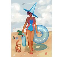 Summer Witch Photographic Print