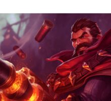 Graves-League of Legends Sticker
