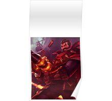 Graves-League of Legends Poster