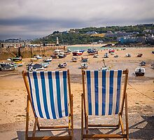 Cornish Deck Chairs by Michelle Lovegrove