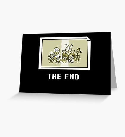 Art of Undertale Videogame Greeting Card