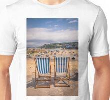 Cornish Deck Chairs Unisex T-Shirt