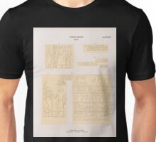 0230 Dynastie V Pyramiden von Giseh Jîzah a b Grab 27 c Grab 10 d Grab 35 Unisex T-Shirt