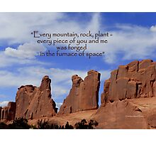 Every Rock Photographic Print