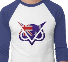 VANOSS Men's Baseball ¾ T-Shirt