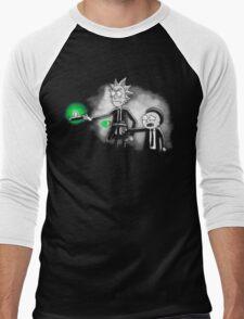 Pulp Ricktion shirt hoodie phone ipad case pillow tote iPhone 6 Men's Baseball ¾ T-Shirt
