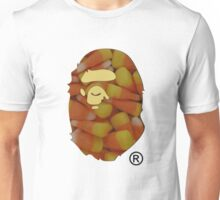 BAPE | Candy Corn ® | White Background | 45% Opacity | High Quality! Unisex T-Shirt