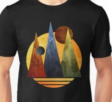 Spiritual Luna Mountains Unisex T-Shirt