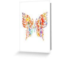 Watercolor Butterflies Butterfly Greeting Card
