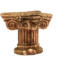Detail of a Roman column by Benjamin Gelman
