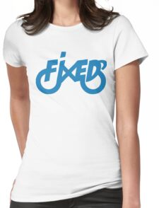 Fixedlife Fixie Design Womens Fitted T-Shirt