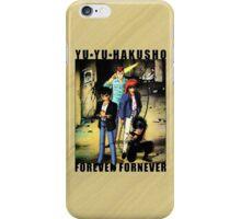 Yu Yu Hakusho - Forever Fornever iPhone Case/Skin