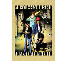 Yu Yu Hakusho - Forever Fornever Photographic Print