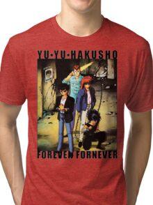 Yu Yu Hakusho - Forever Fornever Tri-blend T-Shirt