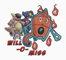 Rotom's Will-O-Miss by mootypwns
