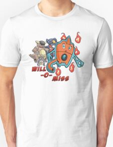 Rotom's Will-O-Miss T-Shirt