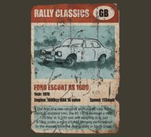 NEW Men's Classic Rally Car T-shirt by NuDesign