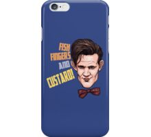 Fishfingers and Custard iPhone Case/Skin