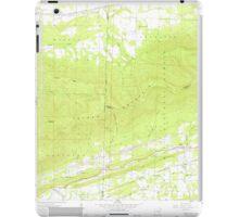 USGS TOPO Map Arkansas AR Bates 257940 1958 24000 iPad Case/Skin