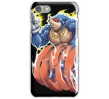 Sonic the Hedgehog homage iPhone Case/Skin