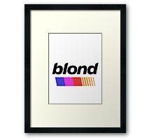 BLOND 2 Framed Print