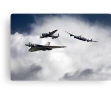Avro History Canvas Print
