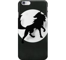 Wolf Silhouette iPhone Case/Skin