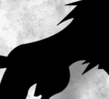 Wolf Silhouette Sticker